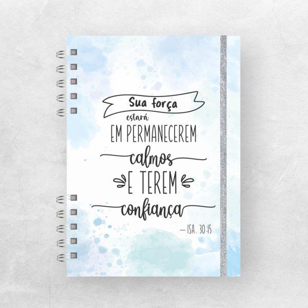 Isaías 30:15 azul